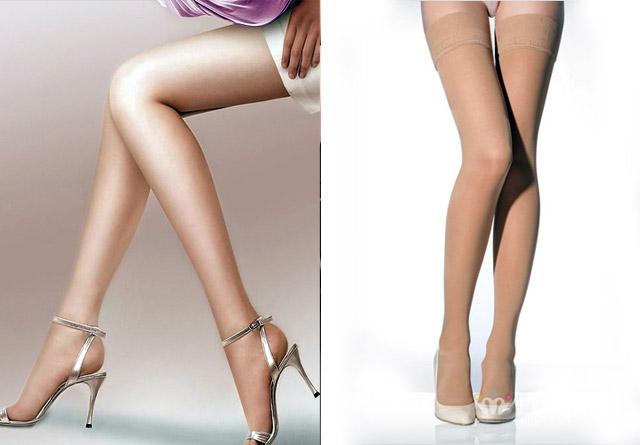 Tất da vừa giúp bạn hạn chế được độ rộng và tăng vẻ săn chắc quyến rũ cho đôi chân!